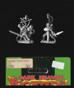 Reaper Miniatures 25mm/28mm Fantasy 02984 Undead Constructs (2 models)